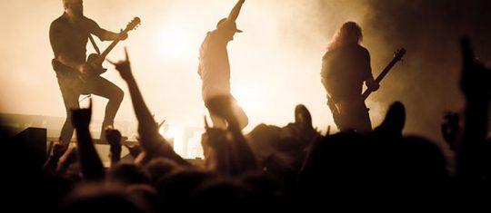 spectacles de rock'n'roll